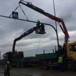 transport bębnów kablowych