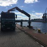 transport szalunków